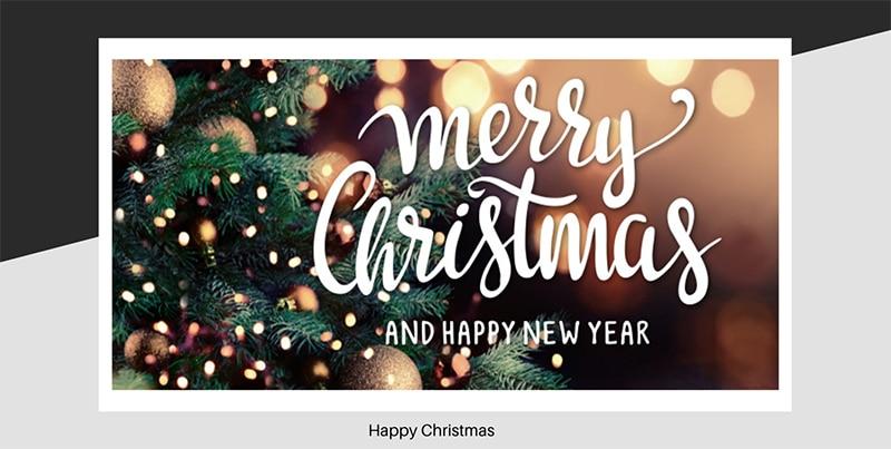 Happy Christmas from the 77 hair salon team