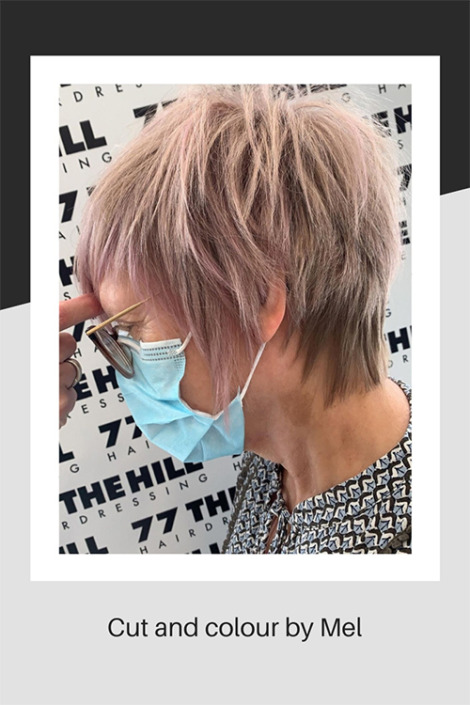 A wonderful haircut and colour by Mel