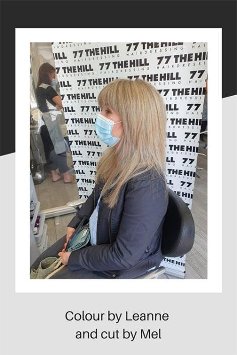 A wonderful hair colouring and cut