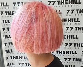 Summer hair colouring