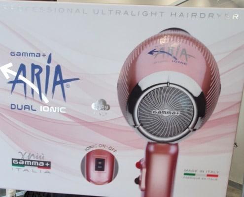 The wonderful Aria hairdryver