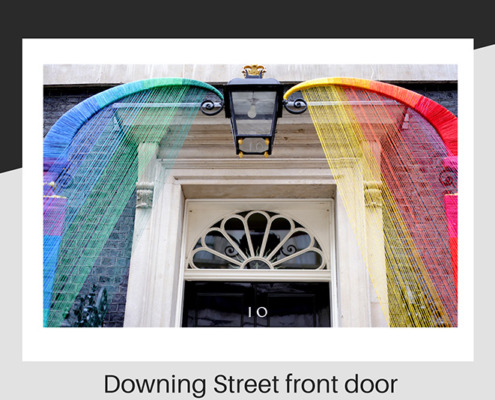 Downing Street makeover for LGTBQ month