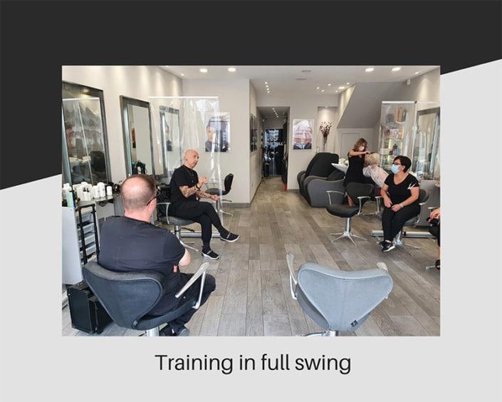 Our Schwarzkopf training