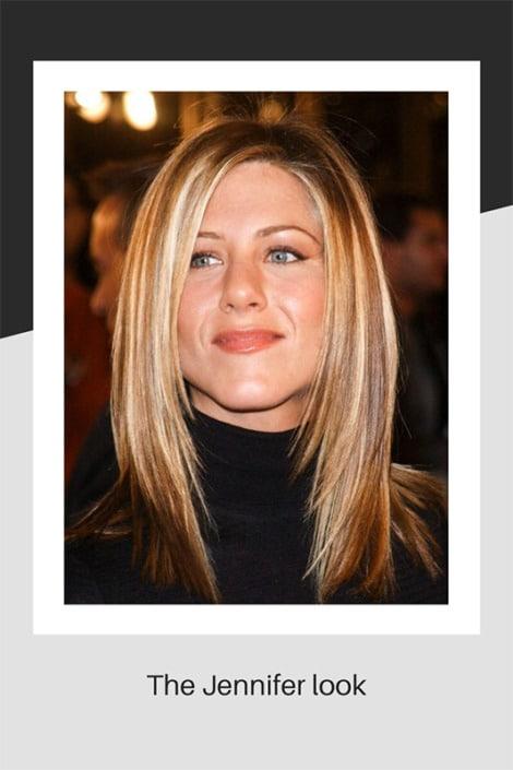 The Jennifer hairstyle